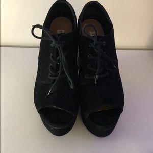 Steve Madden Platform Ankle Boots